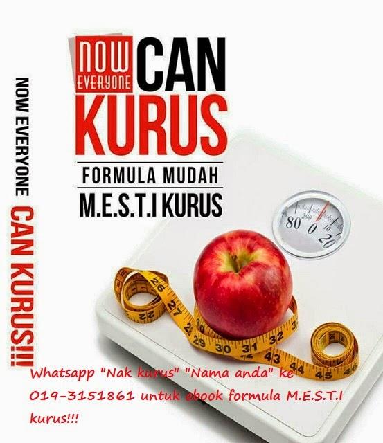 Buku percuma untuk anda yang MAHU KURUS DAN SIHAT!!!