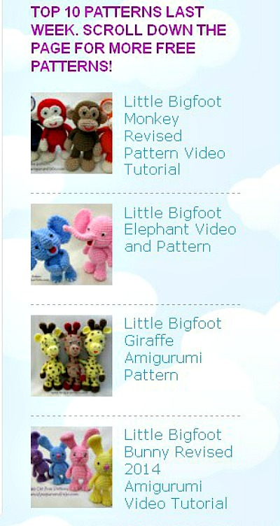 Amigurumi To Go Free Patterns : Amigurumi To Go Free Patterns ~ Amigurumi To Go