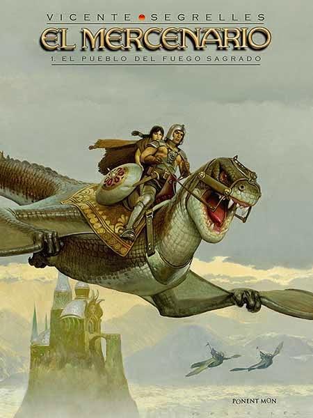 El mercenario - El pueblo del Fuego Sagrado - Vicente Segrelles