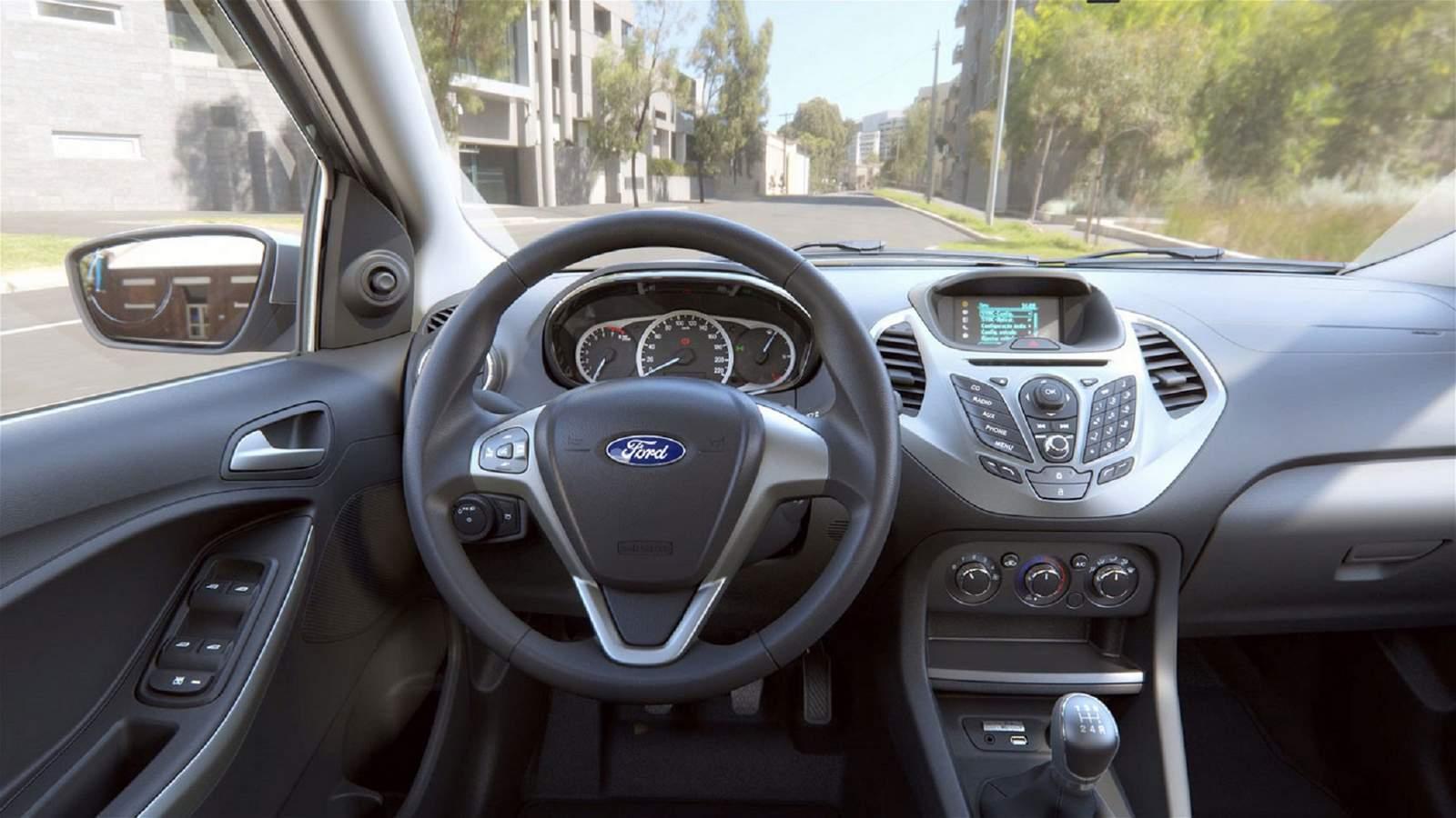 Dimensoes Do Novo Ford Ka 2014 | Autos Weblog