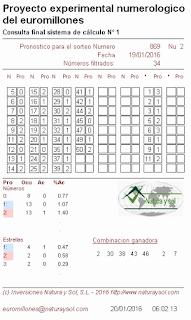 probabilidades euromillones, sistema de calculo 1