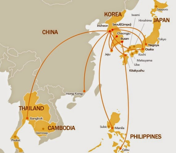 Charles Ryan\'s Flying Adventure: South Korean Carriers And Their ...