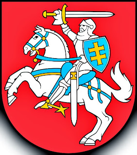 The coat of arms of Lithuania