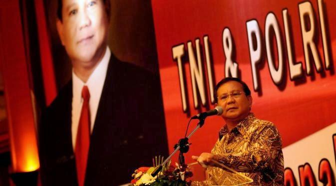 Prabowo Subianto Capres Rusuh dan Kontroversial