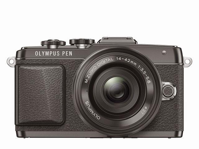 Fotografia della Olympus PEN E-PL7 nera
