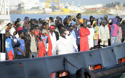 28 nigerians deported from Europe