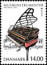 EUROPA CEPT 2014 - Dedicado a los instrumentos musicales DK-14