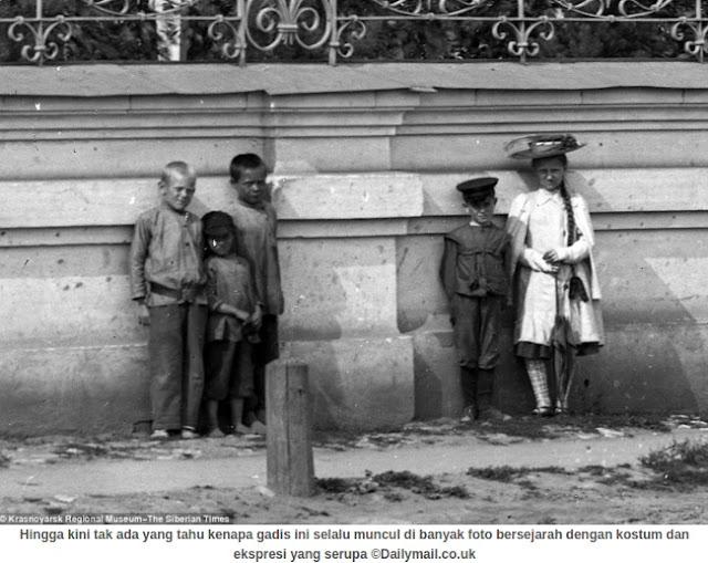 Misteri Foto Jadul di Rusia, Gadis Setan Ini Bikin Merinding