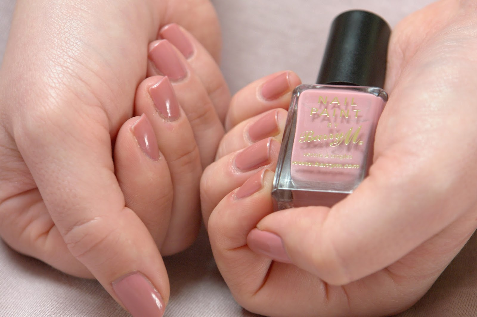NAILS: Barry M Ballerina, Barry M, nail polish, nails, NOTD, pink, swatches, beauty blog, blogger