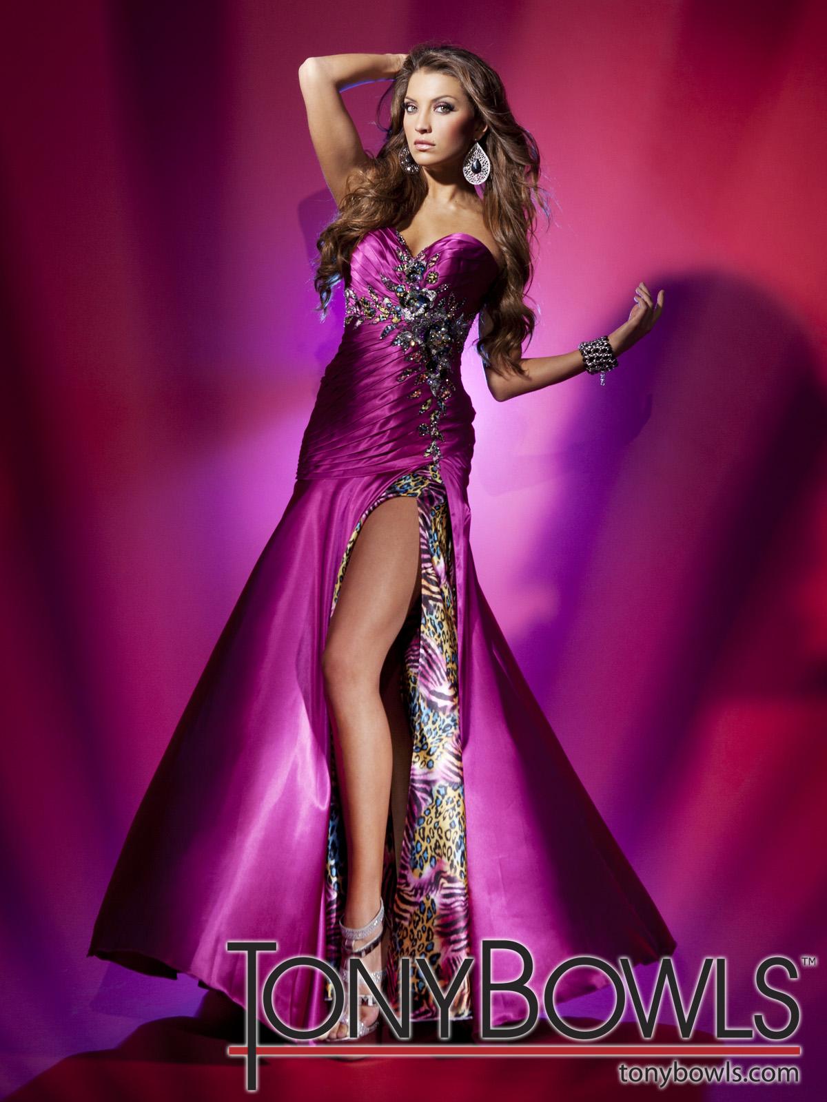 Excepcional Tony Rueda Vestido De Fiesta Colección de Imágenes ...