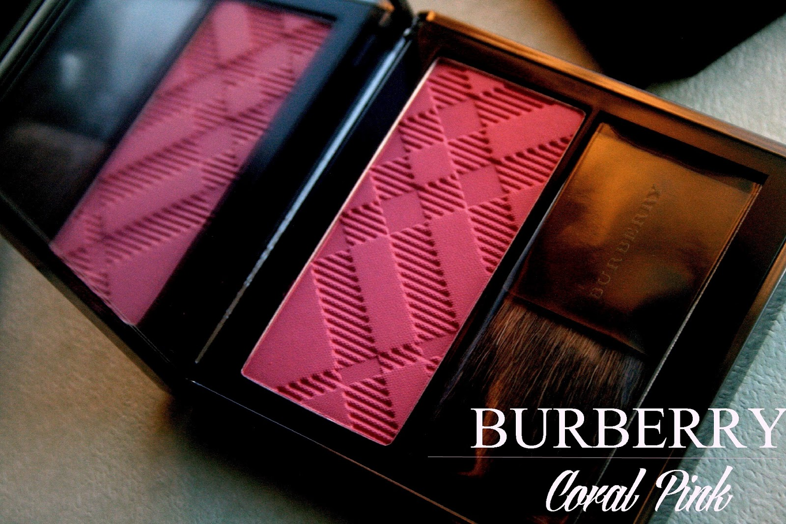 BurberryLight Glow Natural Blush in Coral Pink Burberry Spring/Summer 2013 Makeup