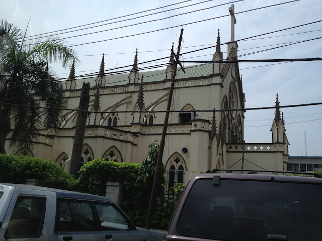 Church in Lagos, Nigeria