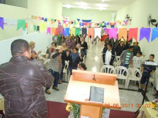 NATÃ DE CRISTO REUNE FAMILIA