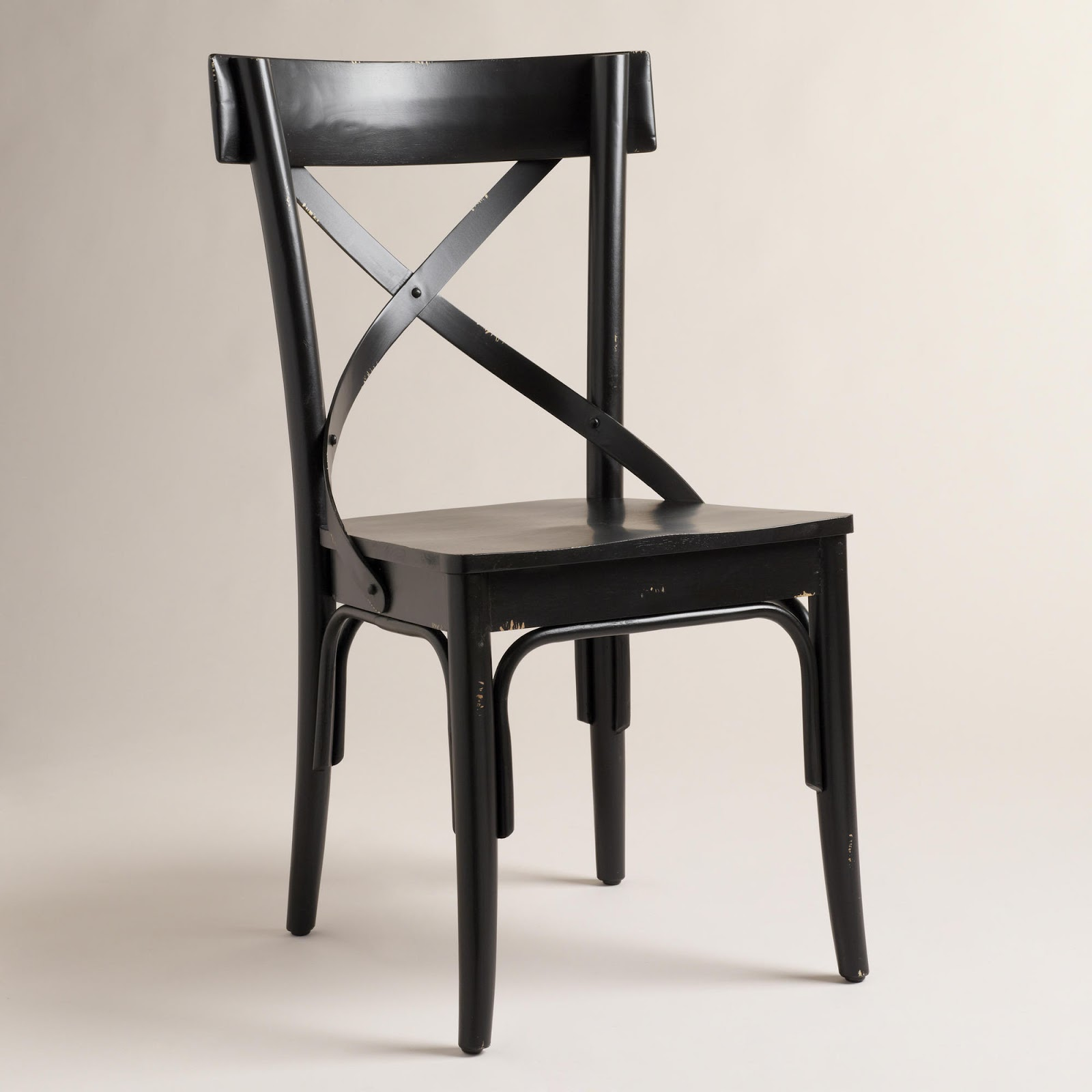 Black French Bistro Side Chairs