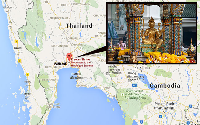 Bangcoc: Polícia acredita que suspeito tinha cúmplices