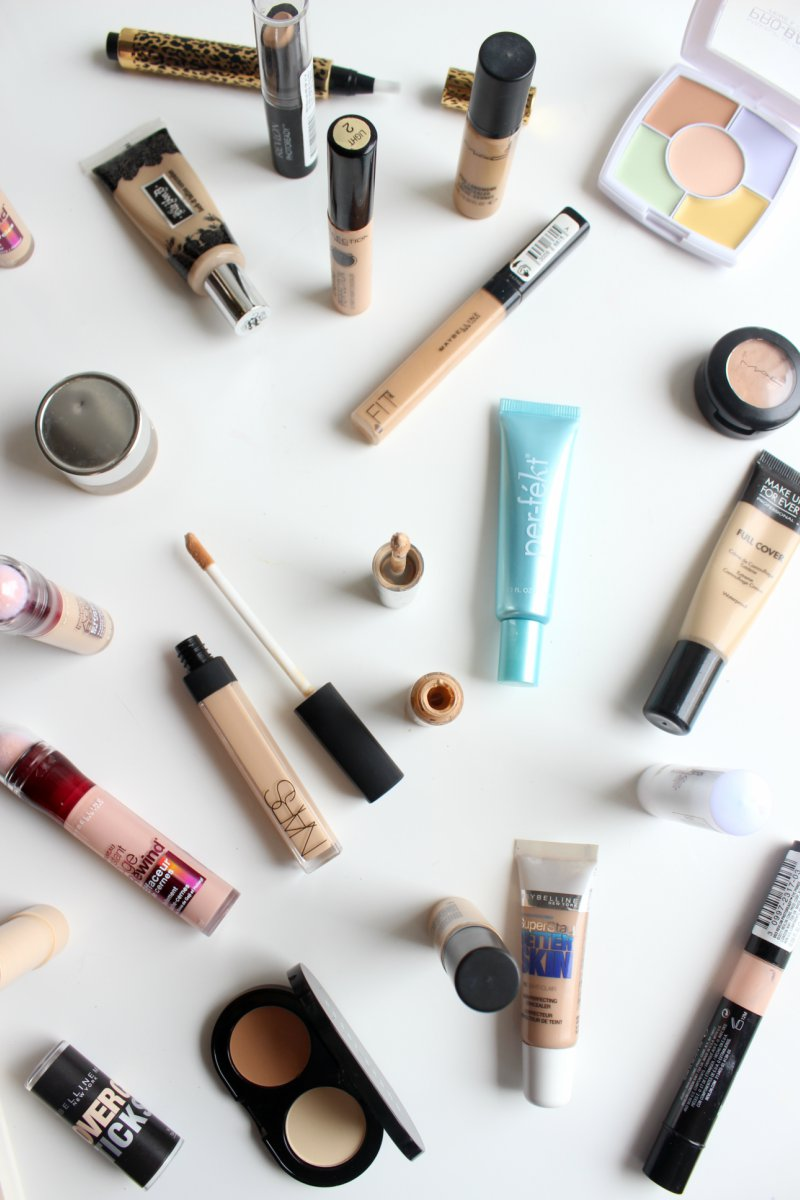 Concealer Types, Textures and Uses Explained