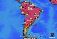 Radiación UV en Suramérica