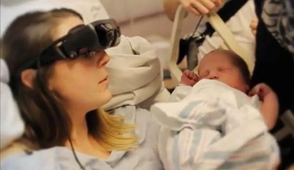 Video Ibu Hilang Penglihatan Pertama Kali Dapat Lihat Bayi Yang Dilahirkannya