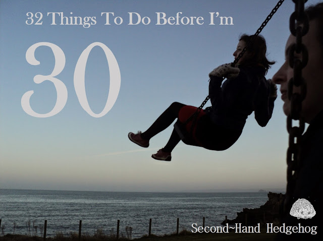 A bucket list of things to do before I turn 30 (inspired by thirty things to do before thirty blog posts) - photo by Katie @ Second-Hand Hedgehog travel blog