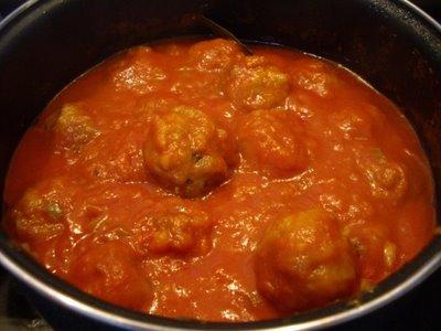 Recetas tradicionales espa olas albondigas en la salsa sabrosa - Albondigas tradicionales ...