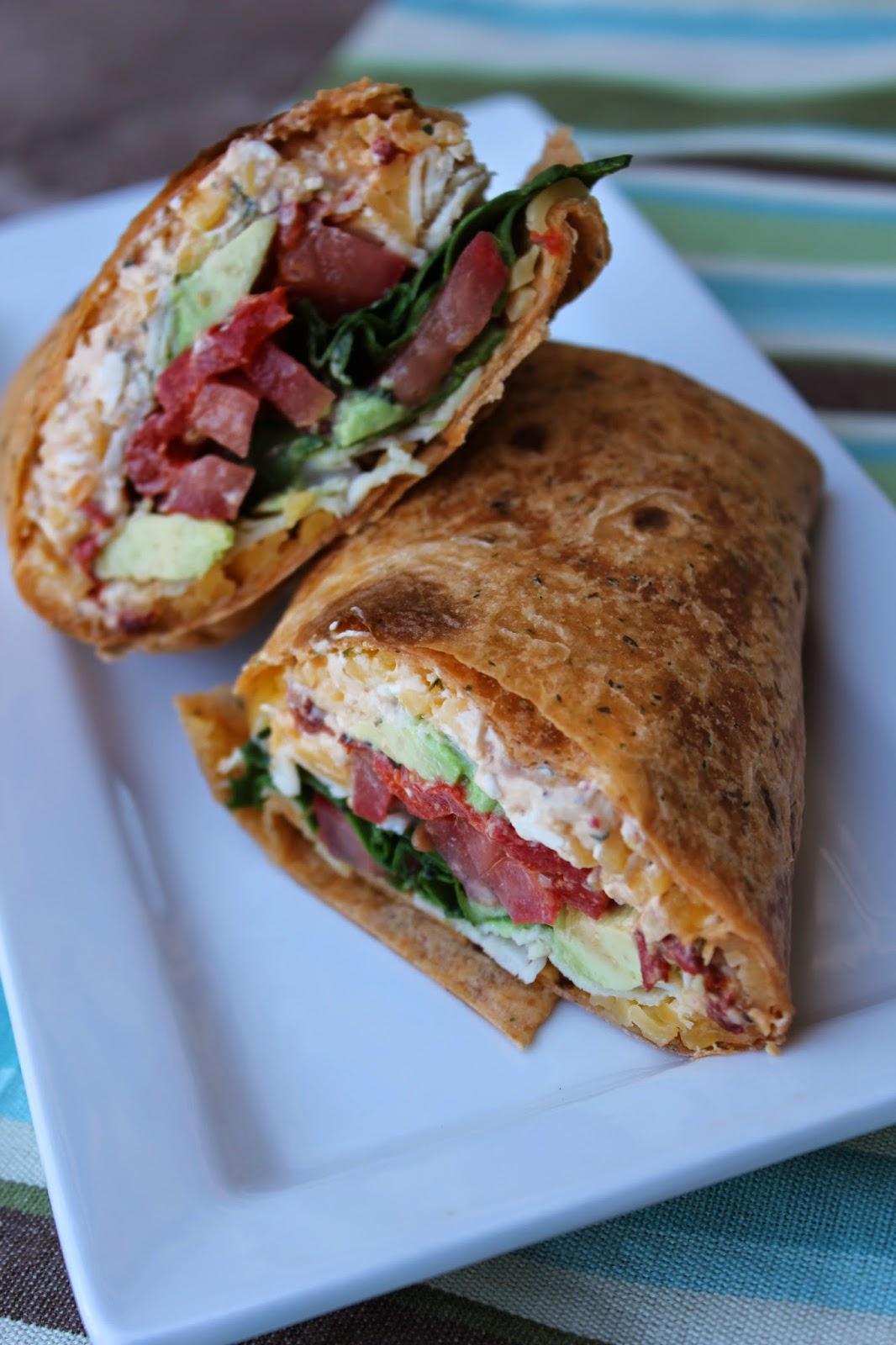 southwestern turkey wrap, Chipotle Turkey Avocado Wrap, chipotle peppers in adobo, creamy chipotle sauce, Recipe:  Main Dish, Recipe:  Turkey, Recipe:  Sandwiches,