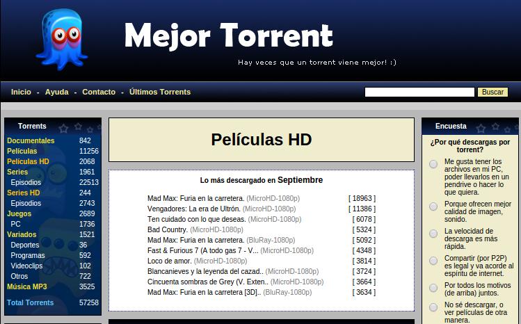 paginas torrent programas pc