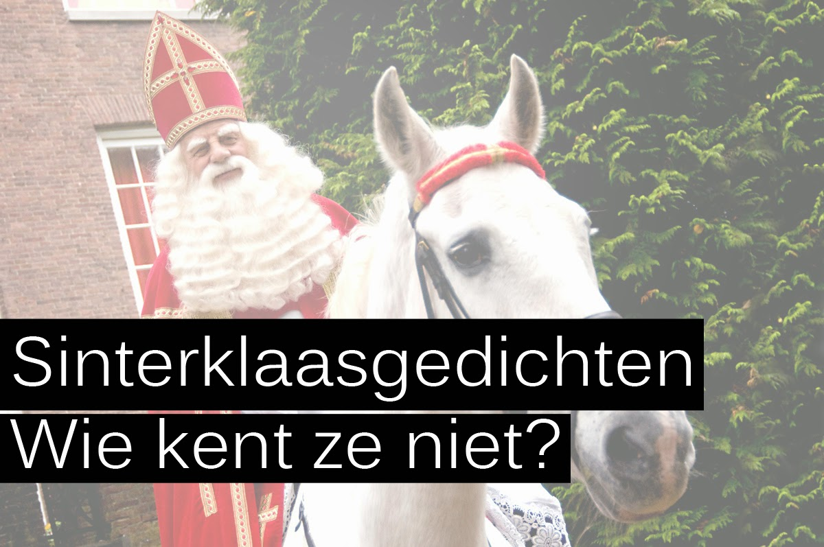 Amanda Deborah Sinterklaasgedichten Wie Kent Ze Niet