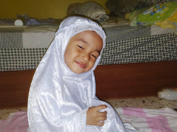 My beloved lil' girl Ilham Farhani