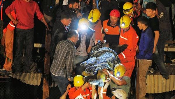 Pertambangan di Turki Meledak, 230 Tewas