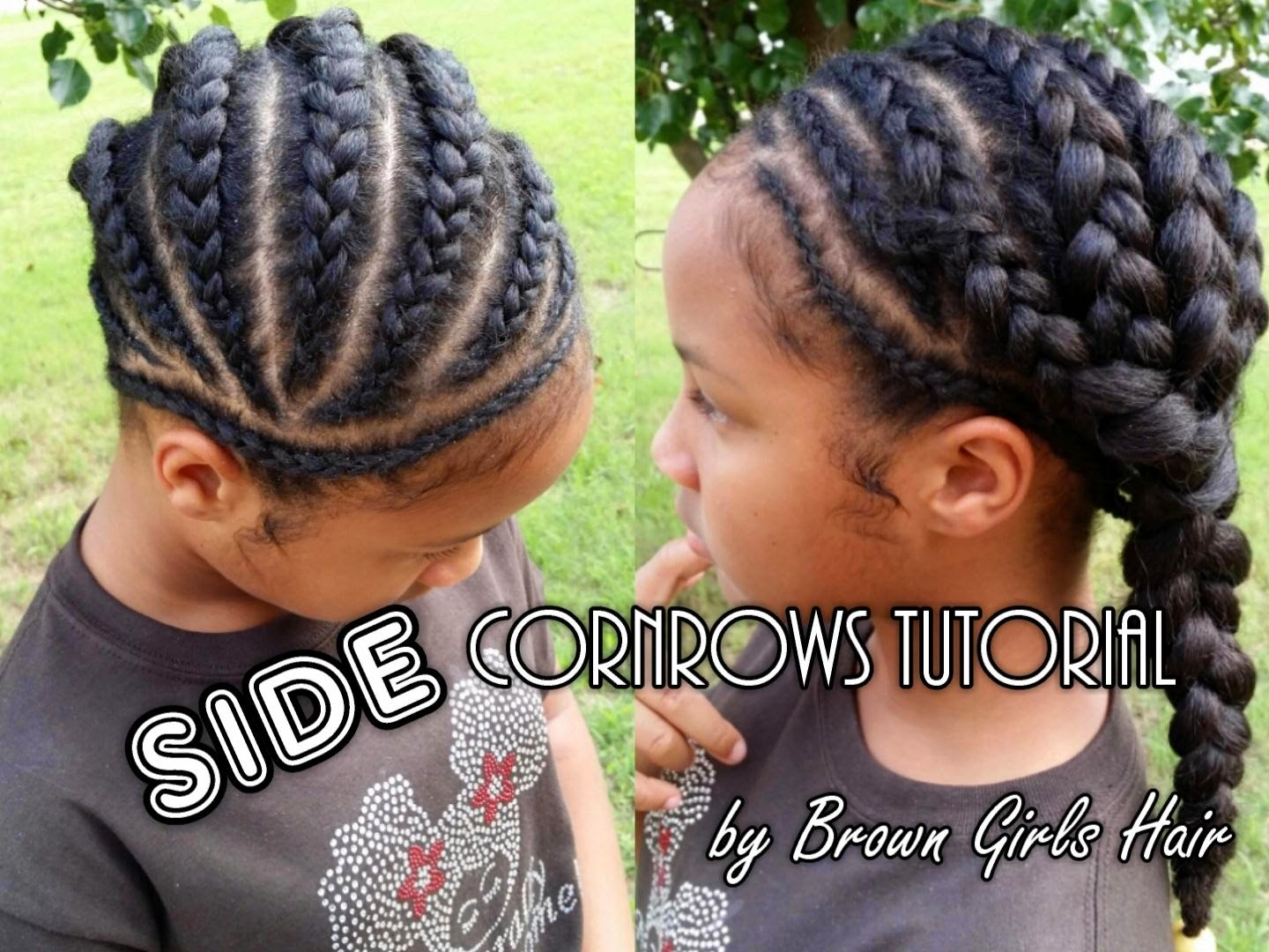 children, cornrows, natural hairstyles for girls, blog, tutorial, braids for girls, black women haircare