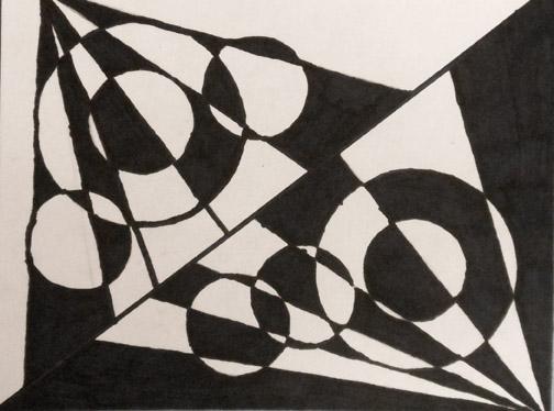 Shape And Form In Art : Bitz n bytz fourth grade op art