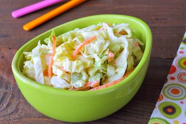 طريقة عمل الكول سلو  بالزبادي, كول سلو للرجيم Coleslaw salad