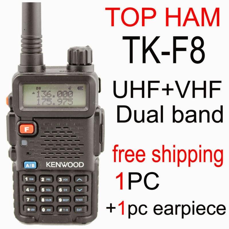Любительская компактная двухдиапазонная радиостанция Kenwood TH-F8 Dual Band (8 Вт, 136-174 | 400-480 МГц) с расширенным функционалом для работы с репитером