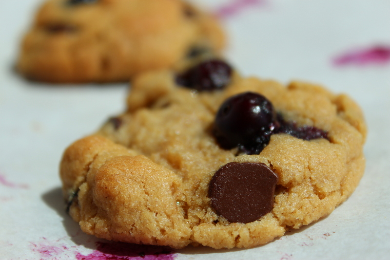 Tried in blue weird recipe wednesday chocolate chip blueberry peanut butter cookies - Unknown uses of butter ...
