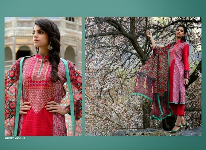 WardaSaleemLawn2014ByShariqTextile wwwfashionhuntworldblogspot 15  - Warda Saleem Lawn Collection 2014 By Shariq Textile