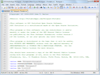 Notepad++ 6.4.3 Final