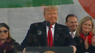 PREMIERĂ în SUA. Donald Trump, mesaj istoric la Marșul pentru Viață