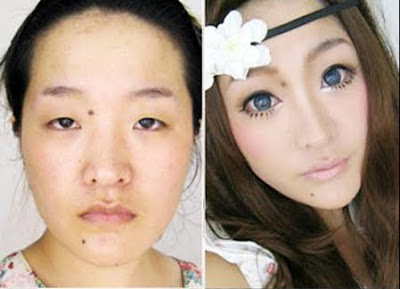 Before and After Photo Chinese Woman Looks Like a Supermodel After Makeover