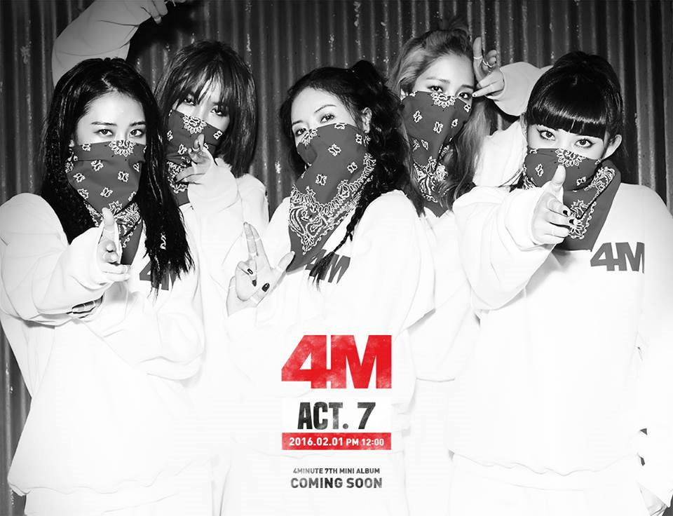 4minute Korean Girl Group