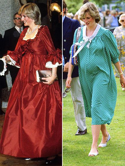 Pregnant celebrity evening dresses
