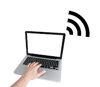 laptop wireless signal Internet