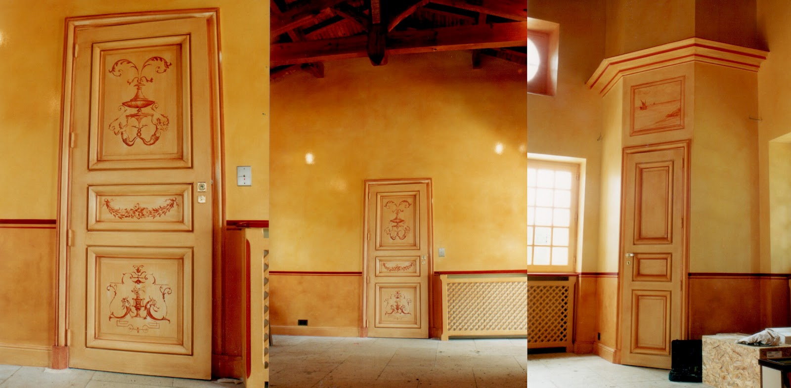 isabelle junqua artiste peintre d corateur portfolio patines. Black Bedroom Furniture Sets. Home Design Ideas