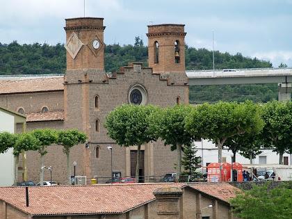 L'església de la Colònia de Viladomiu Nou