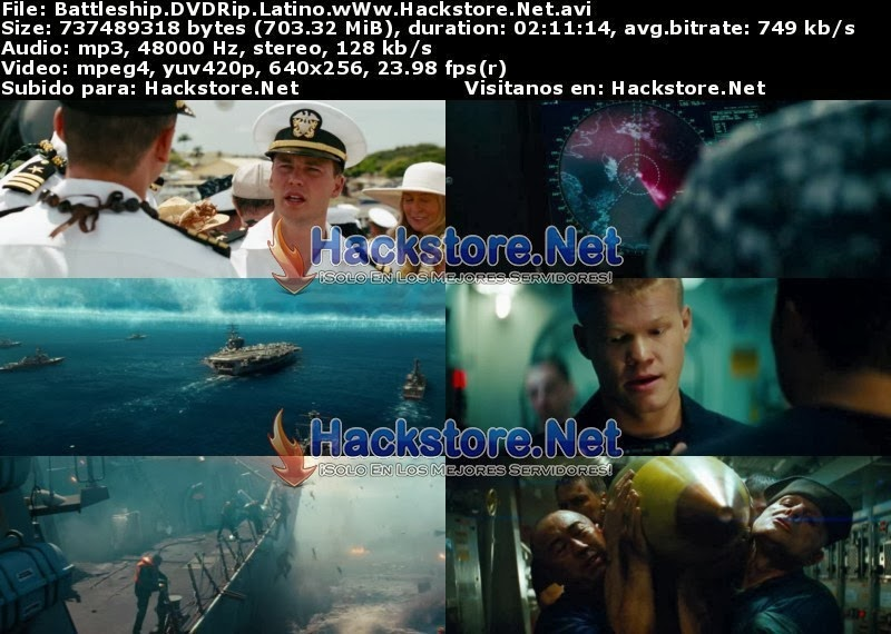 Captura Battleship: Batalla naval (2012) Dvdrip Latino