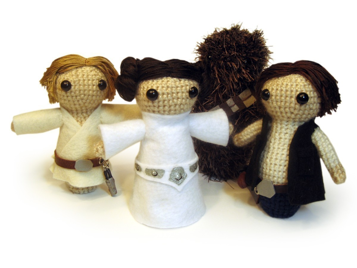 Amigurumi Crochet Patterns Star Wars : on top of a lily pad: Crochet me she did, cute I am
