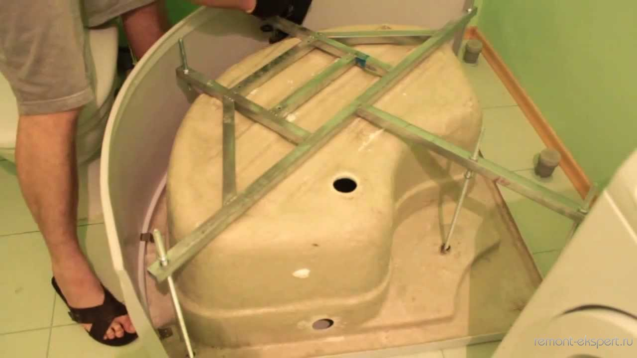 Как собрать душ кабину своими руками