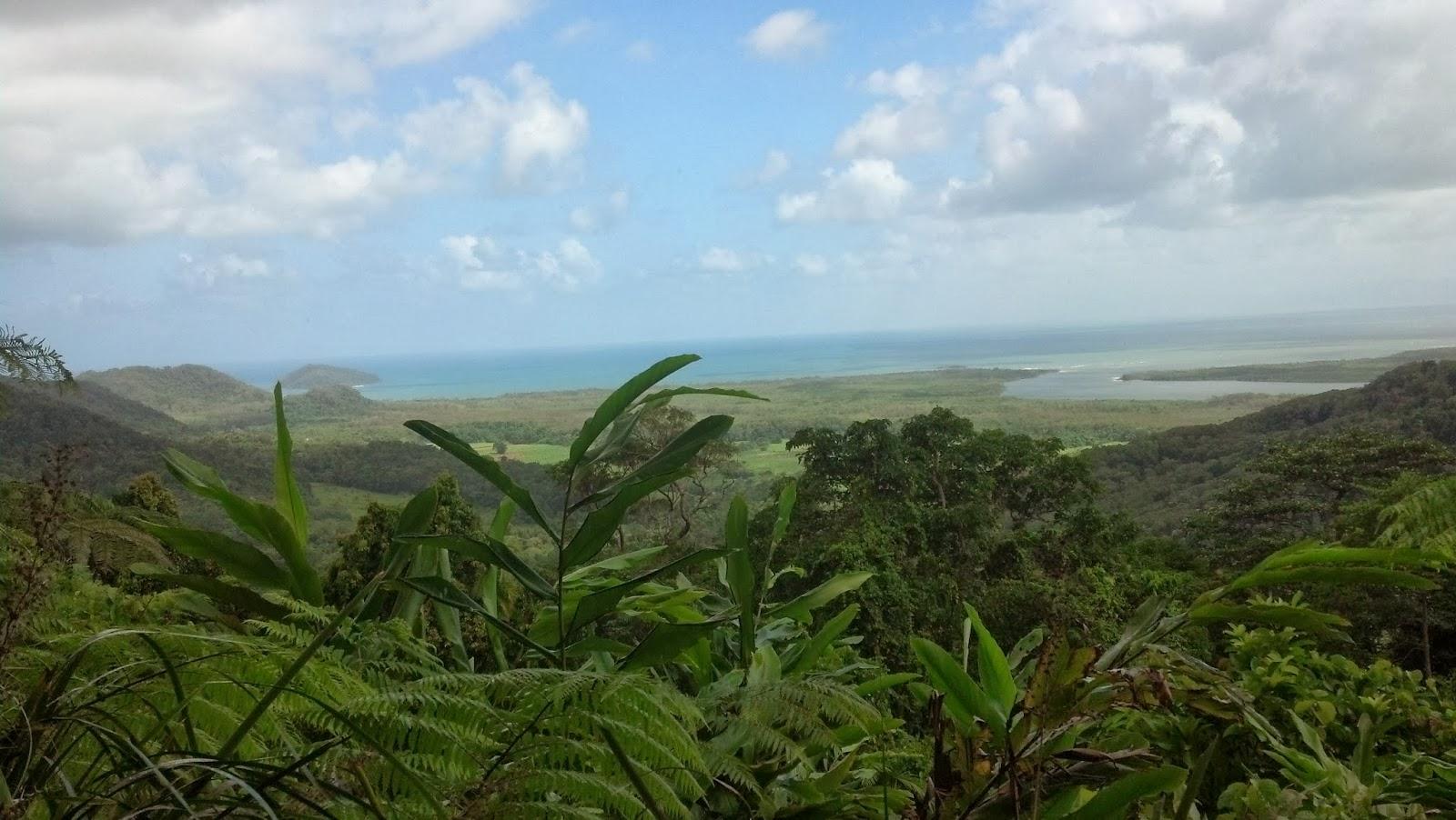 Alexandria range lookout point