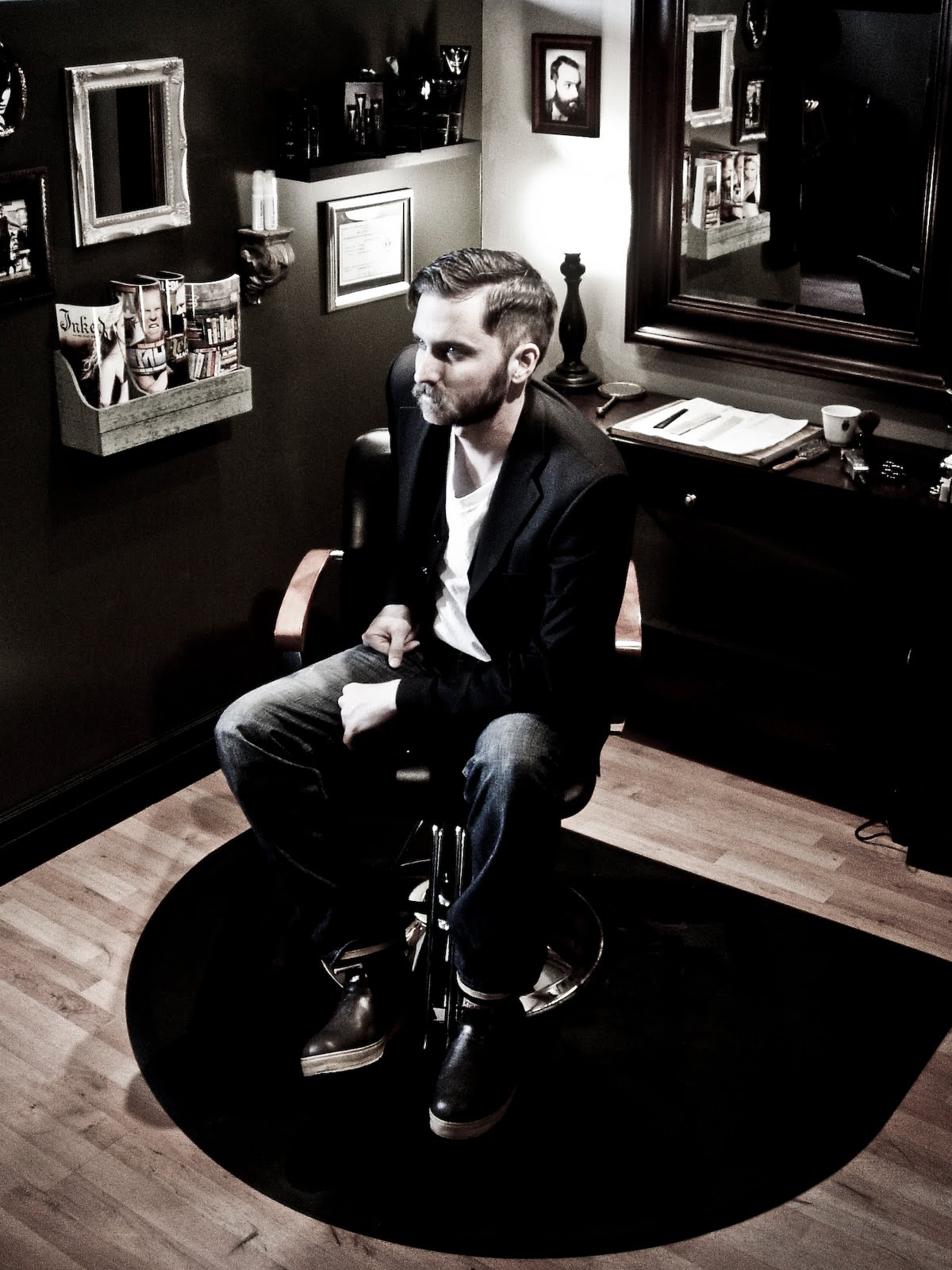 the vanguard barber july 2011