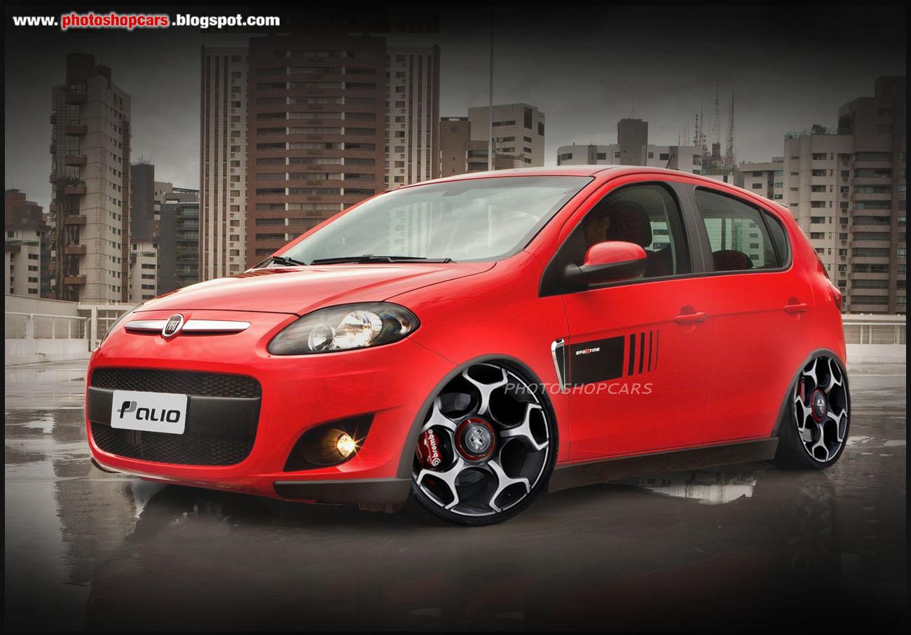 Novo Fiat Palio 2012 rebaixado