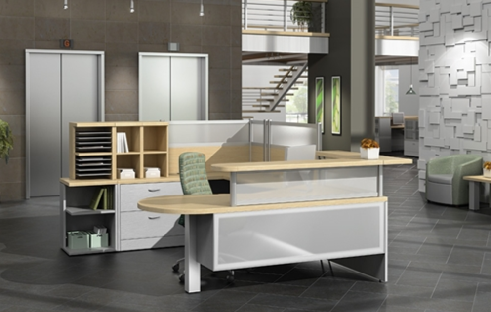 Global Zira Reception Desk